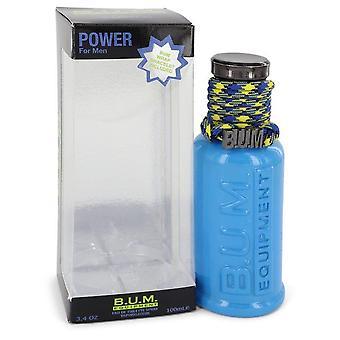 Bum power eau de toilette spray by bum equipment 543250 100 ml