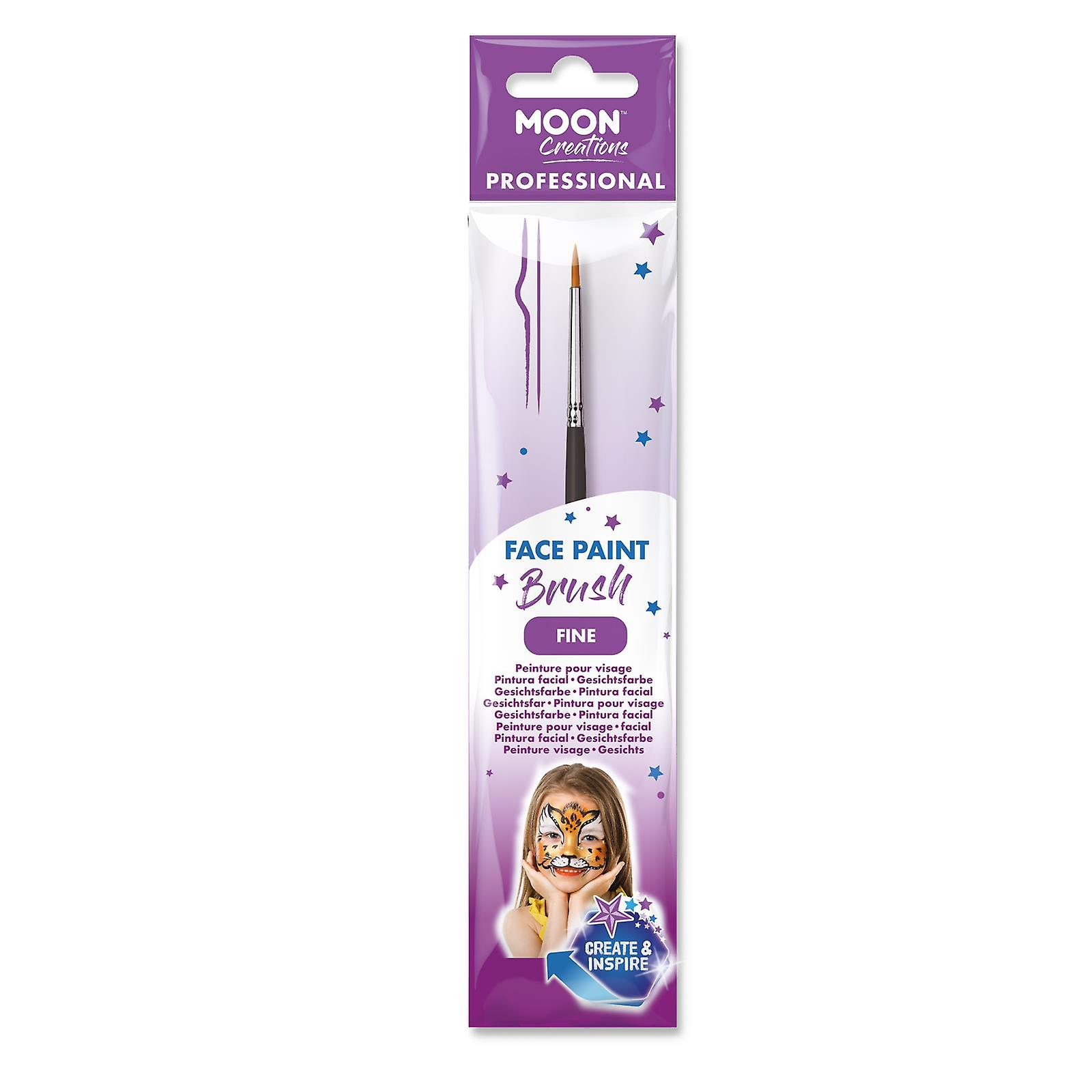 Moon Creations - Fine Professional Face Paint Brush
