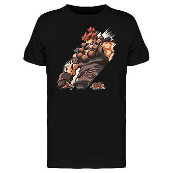Street Fighter Akuma tee Men ' s-Capcom designs