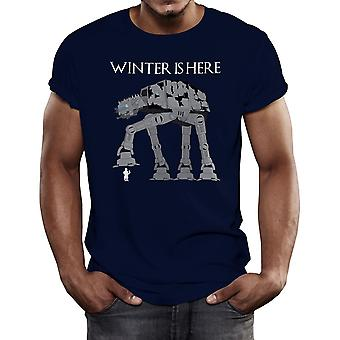 Winter Is Here Men's Camiseta