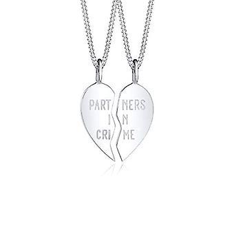 Elli Silber Anhänger Halskette 0110522417_45
