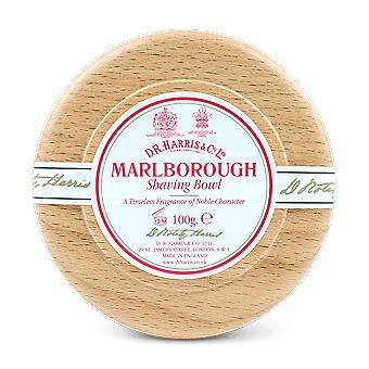 D R Harris Marlborough Shaving Soap & Bowl Beech 100g