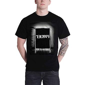 The 1975 T Shirt Neon Sign Glowing Album Tour Band Logo Official Mens New Black