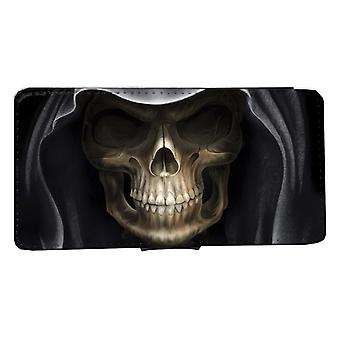 iPhone 6/6s wallet case Skull hood Shell case