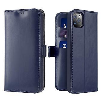 Dux Ducis Kado iPhone 11 Pro Max Monedero Caso Caso Azul