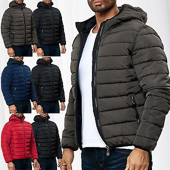 Men Quilted Jacket Transition Vest Windbreaker Casual Sport Winter Blouson Lined