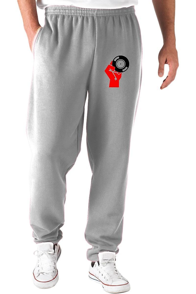 Pantaloni tuta grigio wtc0980 vinyl propaganda