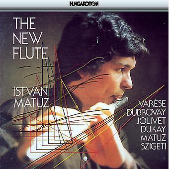 Edgard Varfse/Istvan Szigeti/Laszlo Dubrovay/Andre - New Flute [CD] USA import