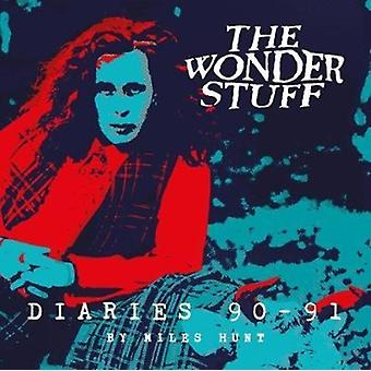 The Wonder Stuff Diaries 90  91 by Miles Hunt