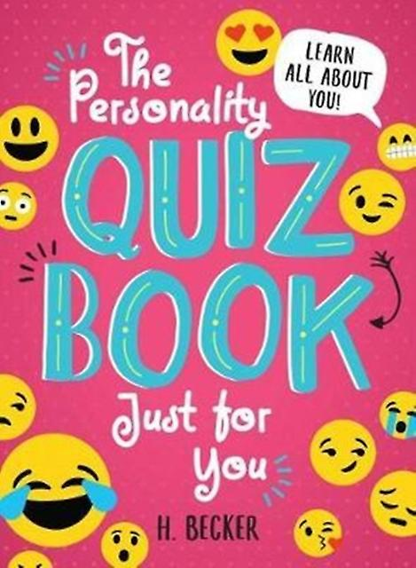 Personality Quiz Book Just for You Learn All About You by H Becker