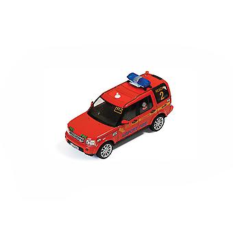 Land Rover Discovery 4 (Dublin Airport Fire Service Rescue 2010) Diecast Model Car