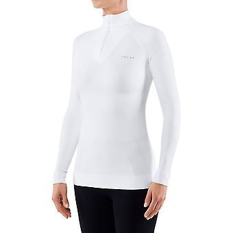 Falke Long Sleeved Zip Shirt - White