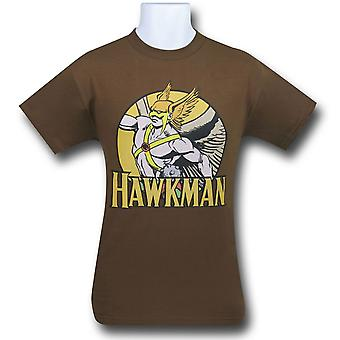 Hawkman Circle camiseta marrón