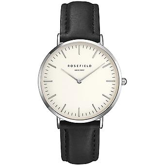 Rosefield the Bowery Quartz Analog Women's Watch with BWBLS-B2 Cowskin Bracelet