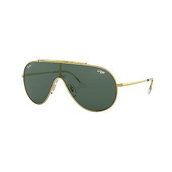 Ray-Ban RB3597 905071 Guld / Mörkgröna solglasögon