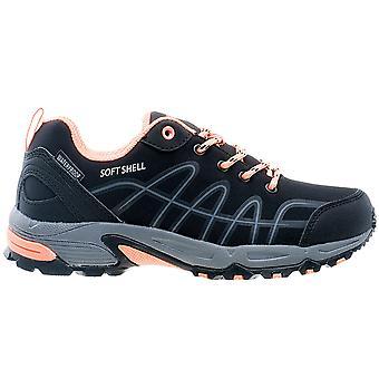 Hi-Tec Pamio low WP Wmns dames Outdoor schoenen zwart sneakers sportschoenen