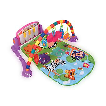 Lorelli Krabbeldecke Play Center Piano, Music 4 Characters 1 Mirror from Birth