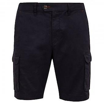 Ted Baker Cargogo Navy Cargo Chino Shorts