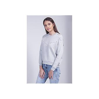 Maison Scotch Studded Sweatshirt
