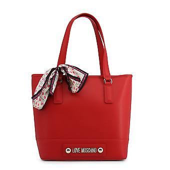 Love moschino women's axelväska olika färger jc4025pp18lc