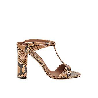 L'autre Koos Ldl05495cp29112106 Dames's Brown Leather Sandalen