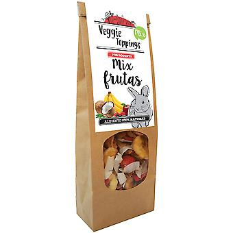 Cominter Snack for Small Mammals Veggie Toppings Mix of Fruits (Small pets , Treats)