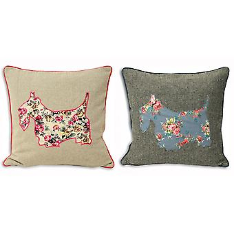 Riva Home Sweet Cottage Scottie hond kussen Cover
