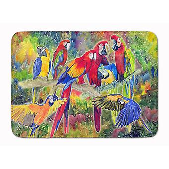 Carolines Treasures  8600RUG Parrot Machine Washable Memory Foam Mat