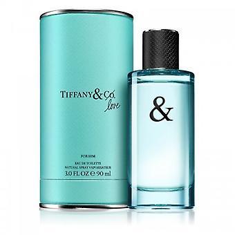 Tiffany & Co Love For Him Eau the toilette spray 90 ml