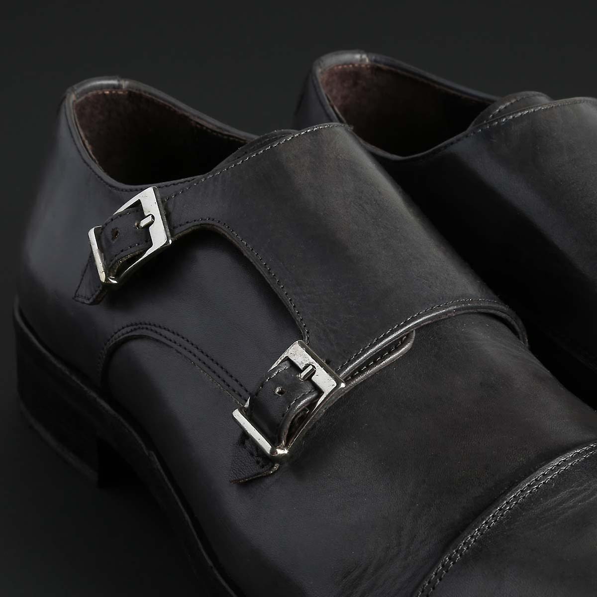Duca Di Morrone Original Menn Hele Året Flat Shoe - Grå Farge 32744