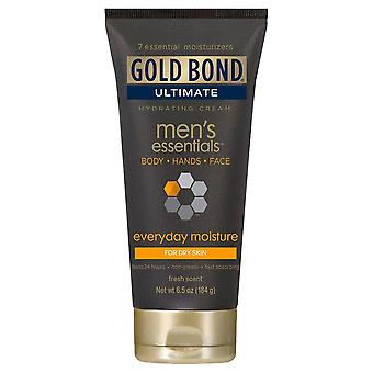 Gold bond ultimate men's essentials hydrating cream, 6.5 oz