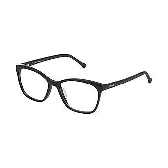 Ladies'Spectacle frame Loewe VLWA07M530700 Black (ø 53 mm)