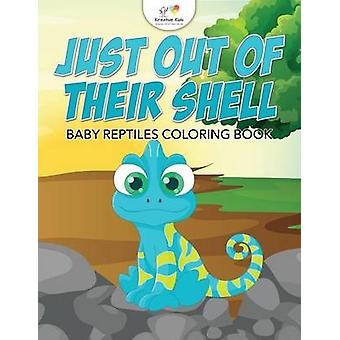 Just Out of Their Shell Baby Reptiles Coloring Book by Kreative Kids