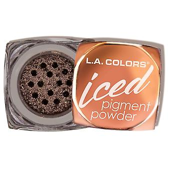 L.A. Colors Pigment Powder Iced Toasted