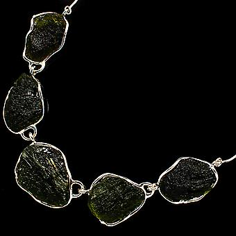 Czech Moldavite Necklace 18 1/2