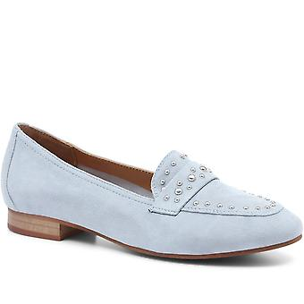 Regarde Le Ciel Embellished Leather Penny Loafer