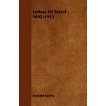 Letters of Travel  18921913 by Kipling & Rudyard