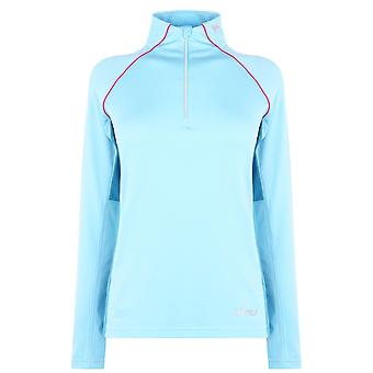 Nevica Womens Ladies Vail Quarter Zip Long Sleeve High Neck Sports Top