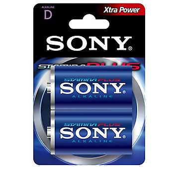 Batería alcalina Sony AM1-B2D AM1-B2D 1,5 V (2 uds) azul