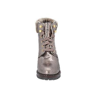 S. Oliver Ankle Boots Women's Boots Gold Lace-Up Boots Winter