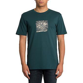 Volcom Prog Kurzarm T-Shirt in Evergreen