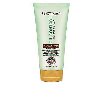 Kativa Oil Control Pre-shampoo Masker 200 ML voor vrouwen