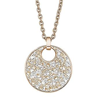 S. Oliver 567527 - Women's necklace with pendant - stainless steel and multicolored Swarovski Elements crystals - 77 cm