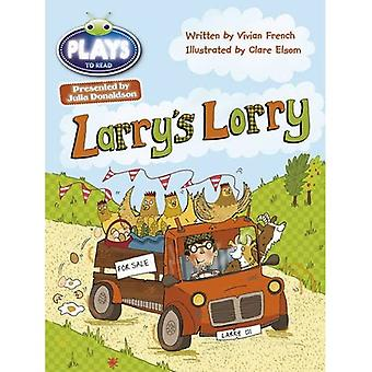 Julia Donaldson Plays Larry's Lorry (green) (BUG CLUB)