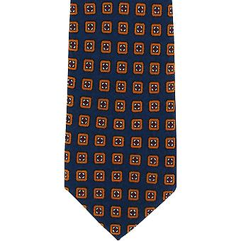 Michelsons de gravata de lã pura de Londres - Teal