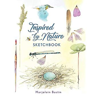 Inspired by Nature Sketchbook by Marjolein Bastin - 9781449495961 Book