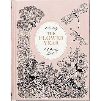 Het jaar van de bloem - een kleurboek door Leila naar behoren - 9781780679532 boek