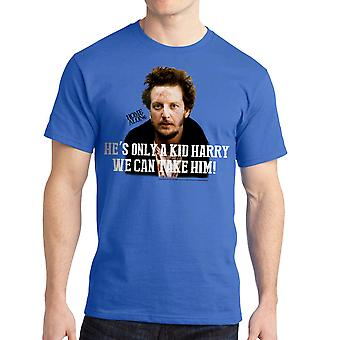 Home Alone He's Only a Kid Harry Quote Men's Royal Blue T-shirt