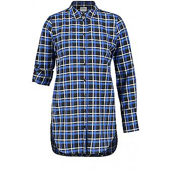 Taifun Blue Check Shirt