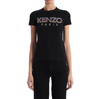 Kenzo Fa52ts82193699 Women's Black Cotton T-shirt